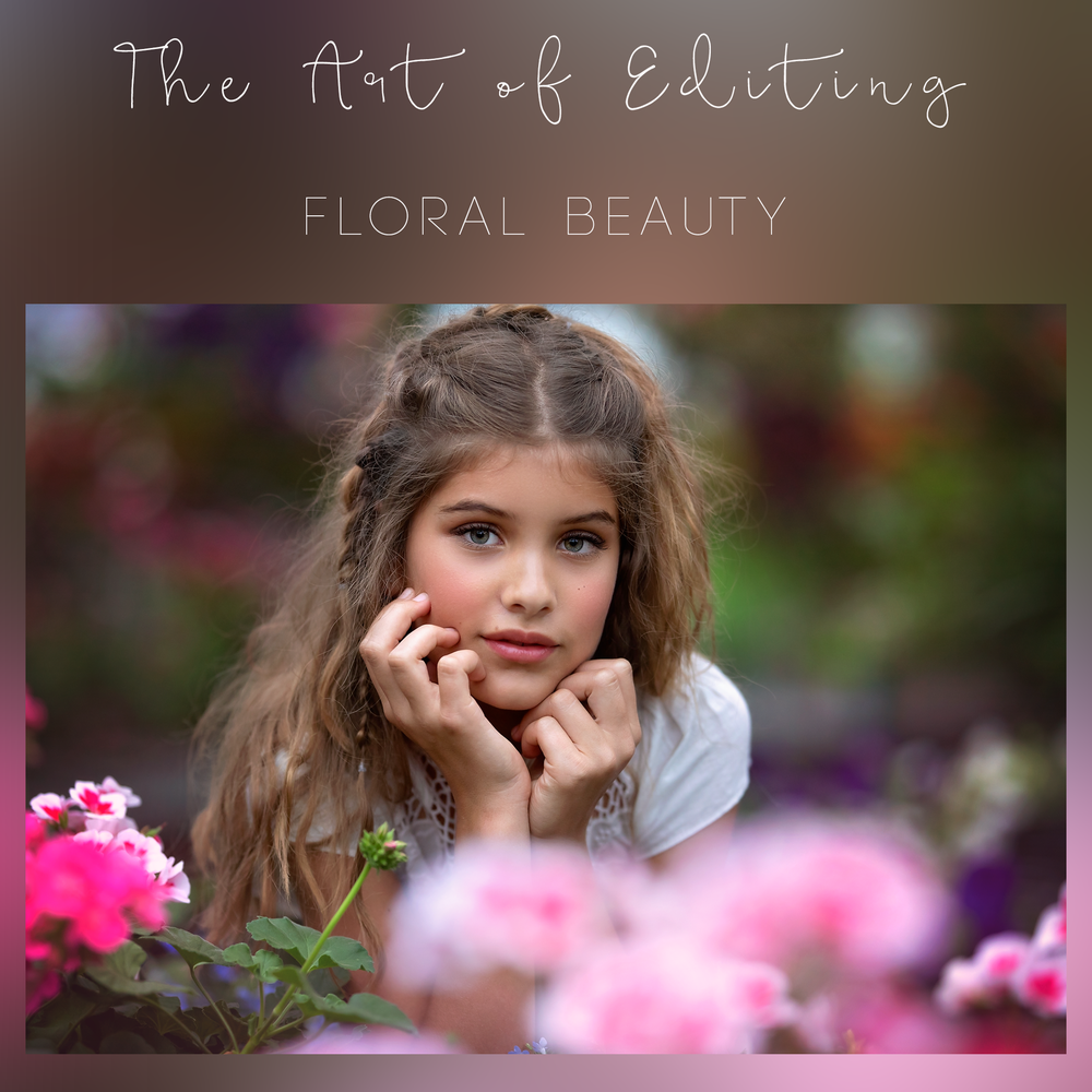Image of The Art of Editing - Floral Beauty