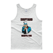 Image of SHIPYARD WANTS YOU 4th of July TANK TOP