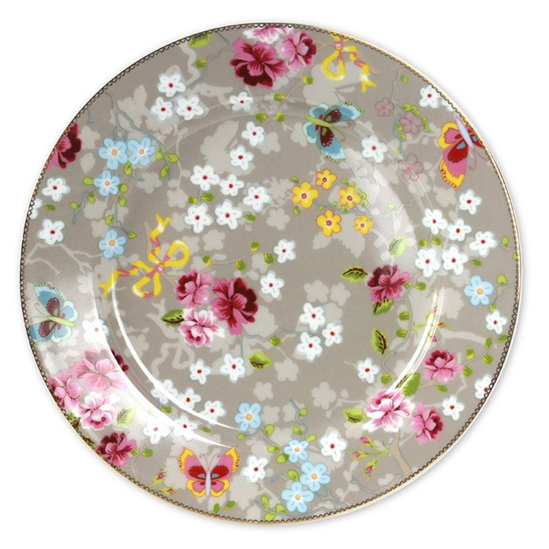 Image of PiP Studio Chinese Rose Cake Plate ~ Two Colours