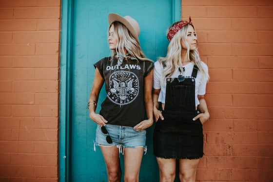 Image of Outlaws Faded Tee