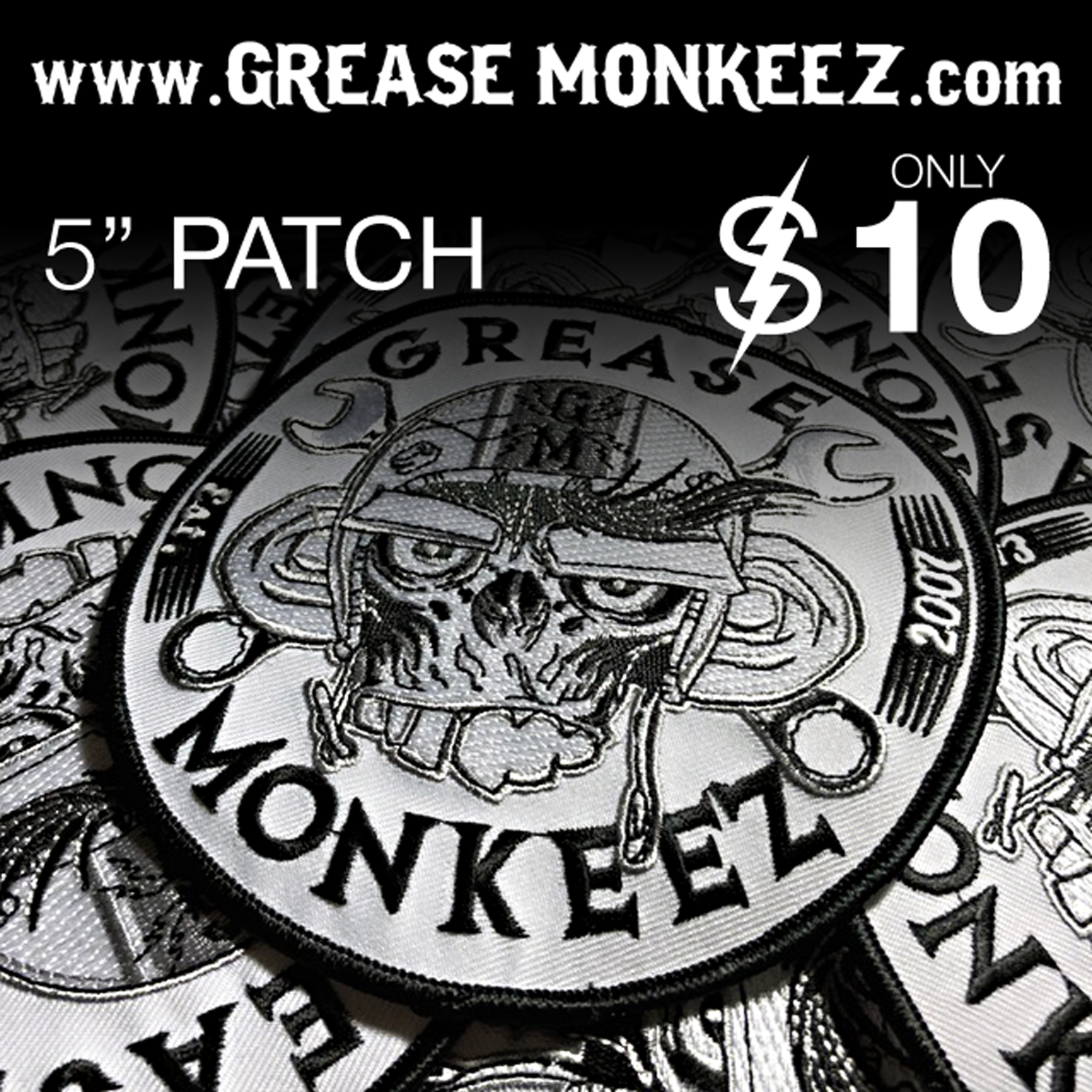Image of Grease Monkeez Patch