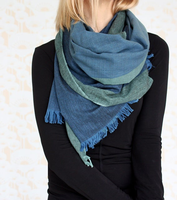Image of Hand Woven Cotton Scarf