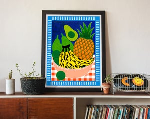 Image of Still Life w/ Fruit Fine Art Print