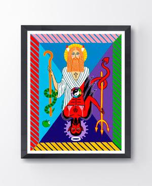 Image of Deuce Giclee Print