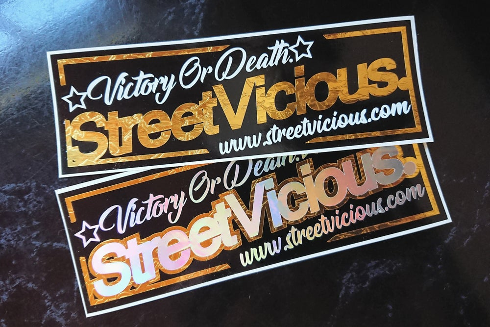 Image of Street Vicious Premium Slap Sticker