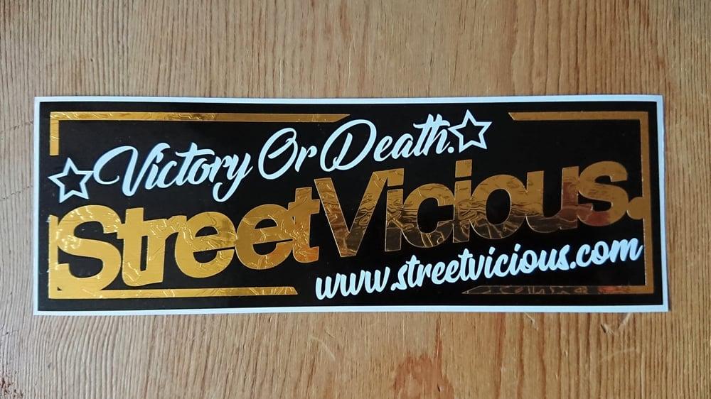 Image of Street Vicious Premium Slap Sticker