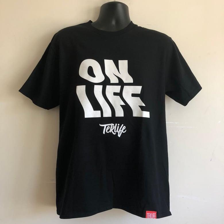 Image of TL032 Teklife ON LIFE black