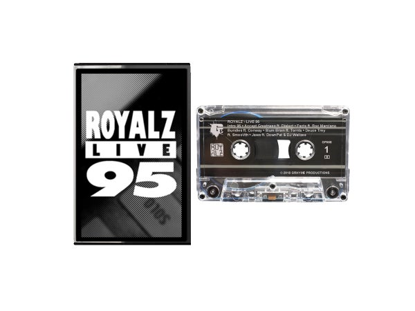 Image of Live 95 Cassette