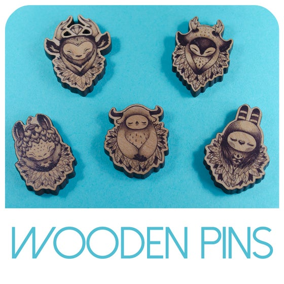 Image of Wooden Pins