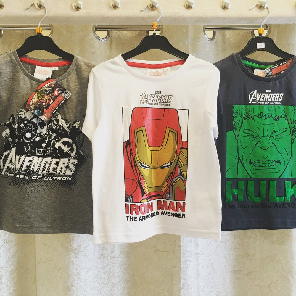 Image of Boys avengers tshirt