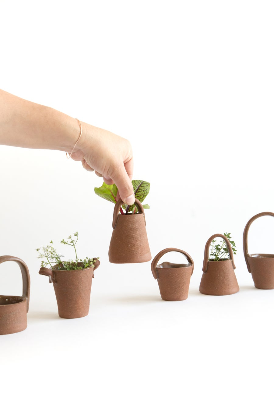 Image of Mini Red Baskets