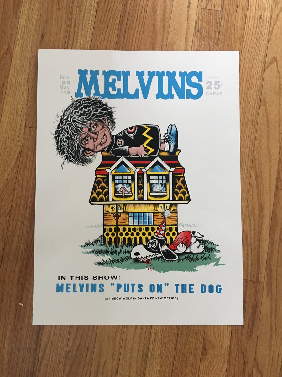 Image of Melvins - 5/29/18 - MEOW WOLF