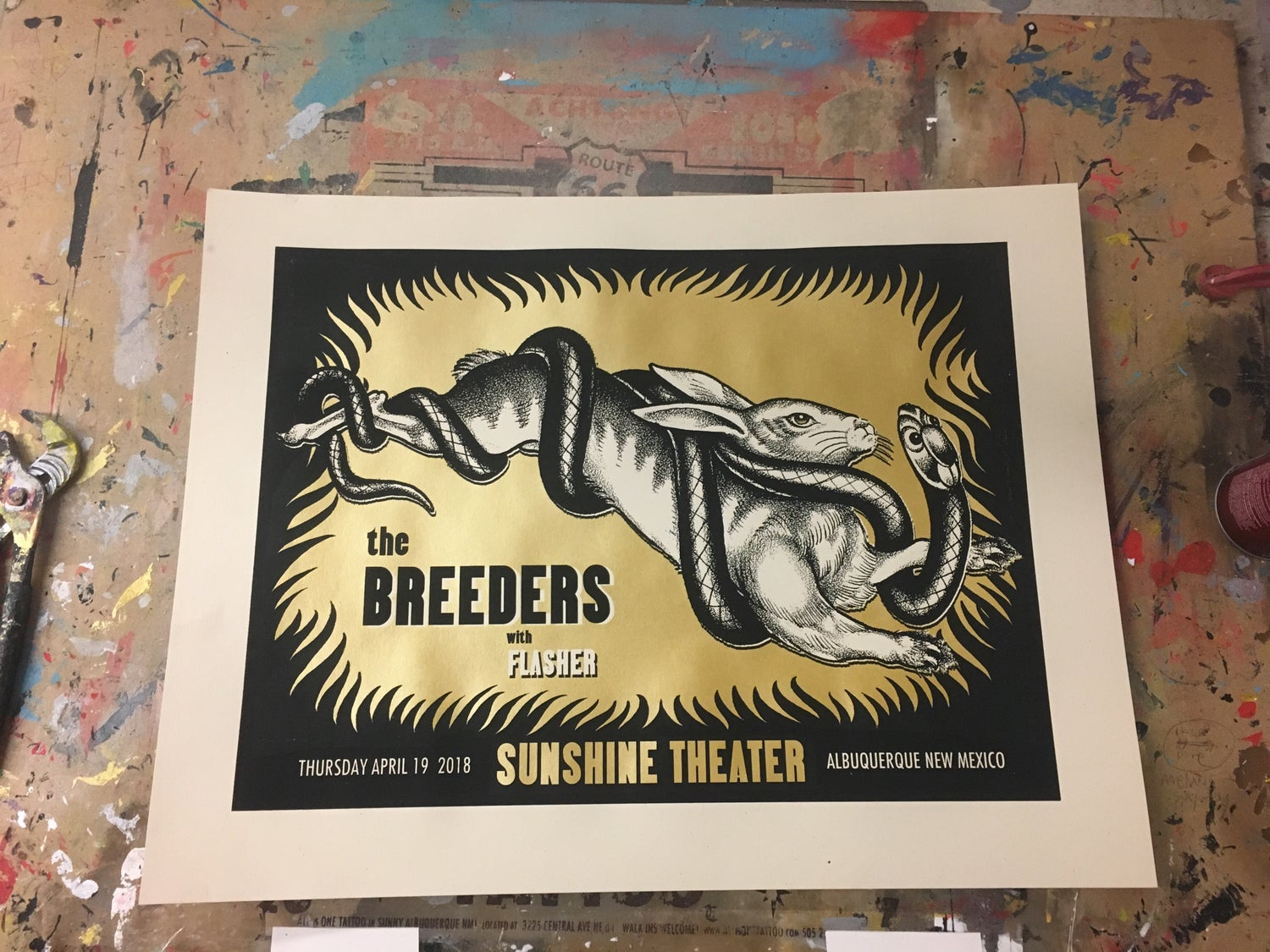 Image of Breeders - 4/19/18 - Sunshine Theater