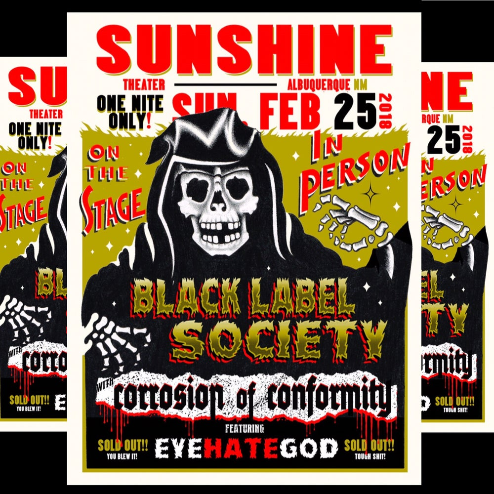Image of Black Label Society - 2/25/18 - Sunshine Theater