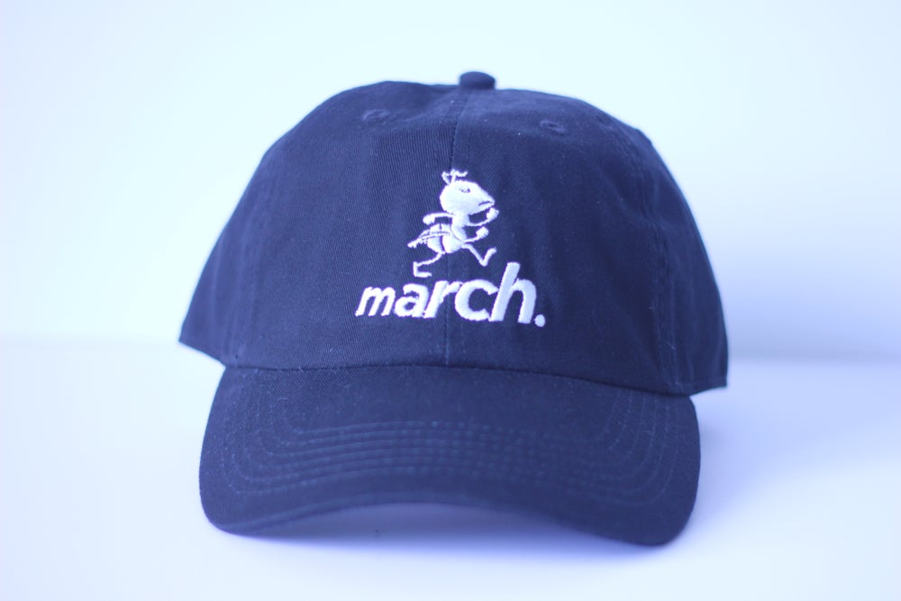 Image of Marchin' Ant Cap (Blk/Wht)