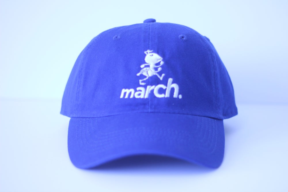 Image of Marchin' Ant Cap (Blu/Wht)