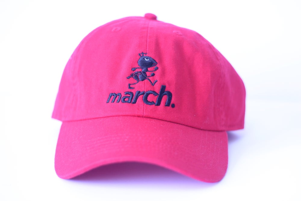 Image of Marchin' Ant Cap (Red/Blk)