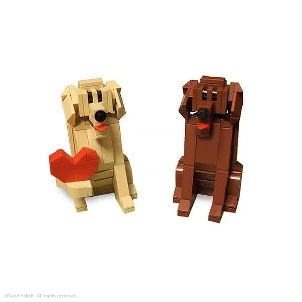 Image of LEGO Labrador