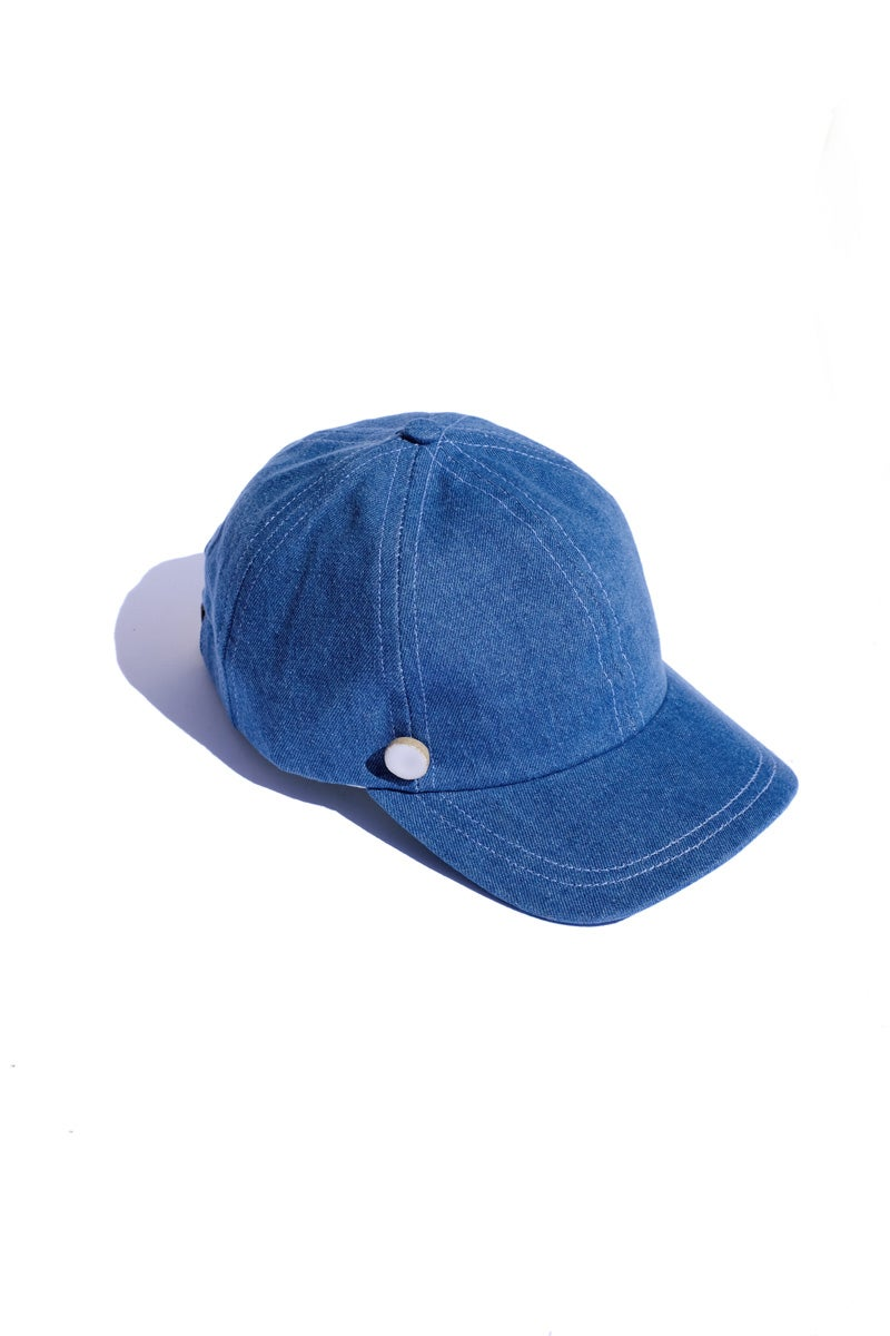 Image of denim cap
