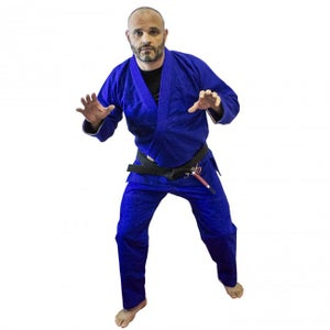 Image of Ground Control Adult All Play Blue Gi