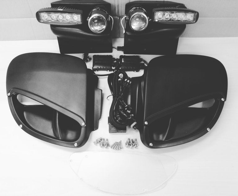 Image of 009 sleek headlight DIY kit