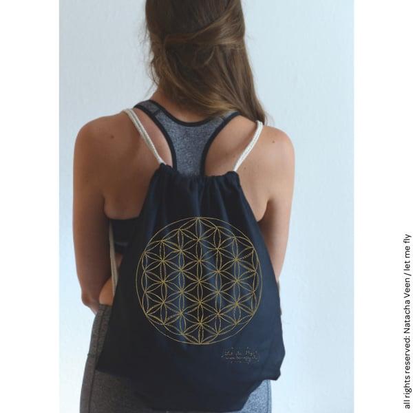 Image of Pré-commande Gym bag *Fleur de vie*