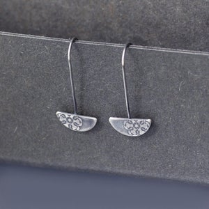 Image of Sterling Silver Spiro Lace Earrings