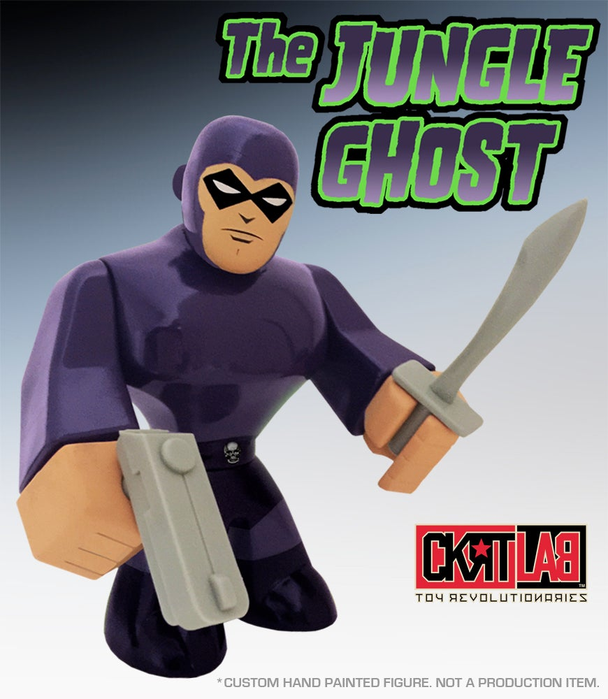 Image of THE JUNGLE GHOST