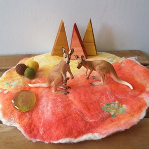 Image of Felted playmat