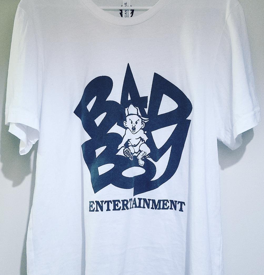 Image of Official Bad Boy Records Logo Shirt - Large