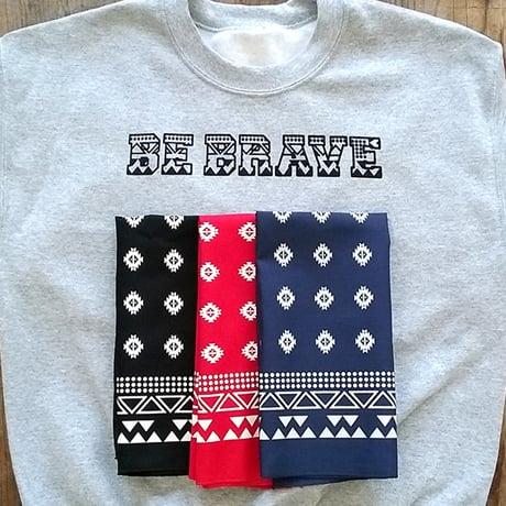 Image of Be Brave 100% Cotton Sweatshirt