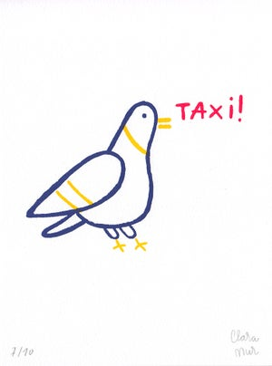 Image of TAXI ! Print