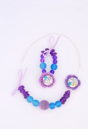 Image of Wild Wanderers Matching Necklace & Bracelet CreativiTea Kit