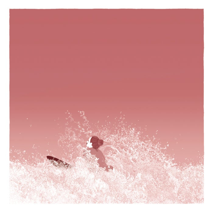 Image of Light pinkish powder