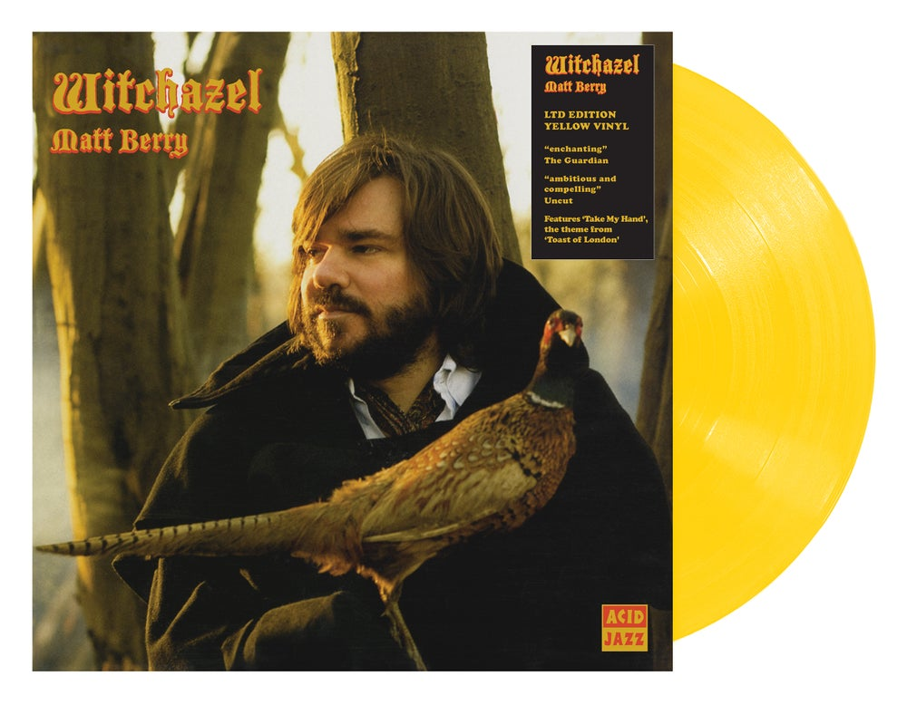Image of Matt Berry - Witchazel (Limited Edition Yellow Vinyl)