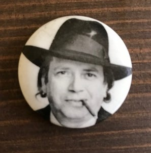 Image of George Melly jazz badge
