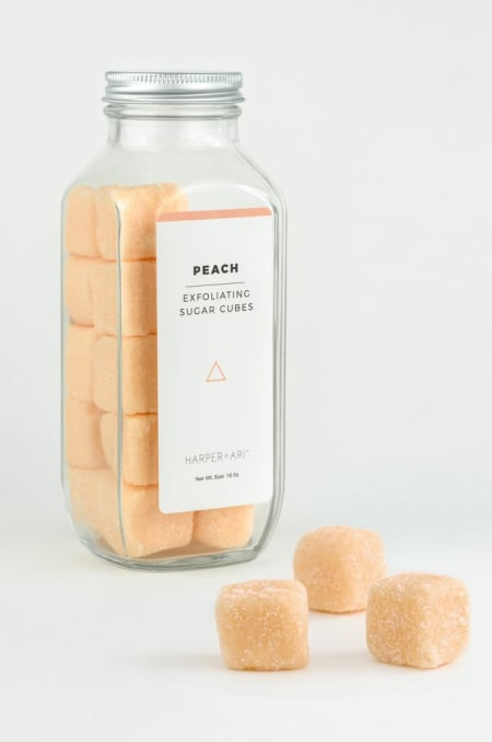 Image of Peach Full Size Sugar Cubes
