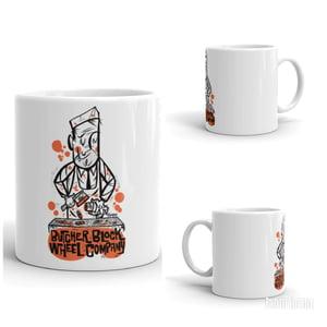 Image of Butcher Block Wheel Company COFFEE MUG