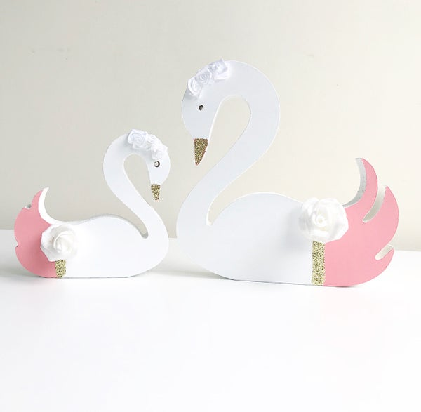 Image of CORAL PERSONALISED SWANS