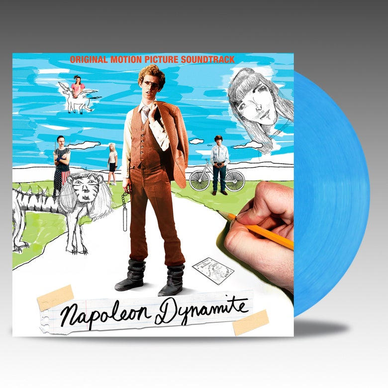 Image of Napoleon Dynamite (Original Motion Picture Soundtrack) - 'Electric Liger Blue' Vinyl - Various