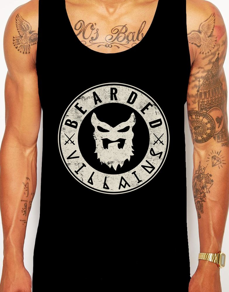 "Image of ""BULLETPROOF""  Black Tank/Vest"