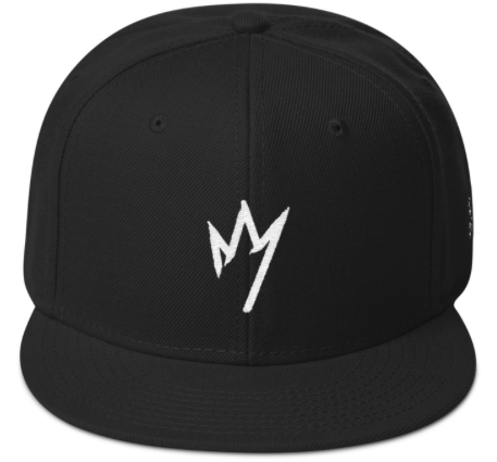 Image of Who The Hell Is They Black Crown Snap Back Cap