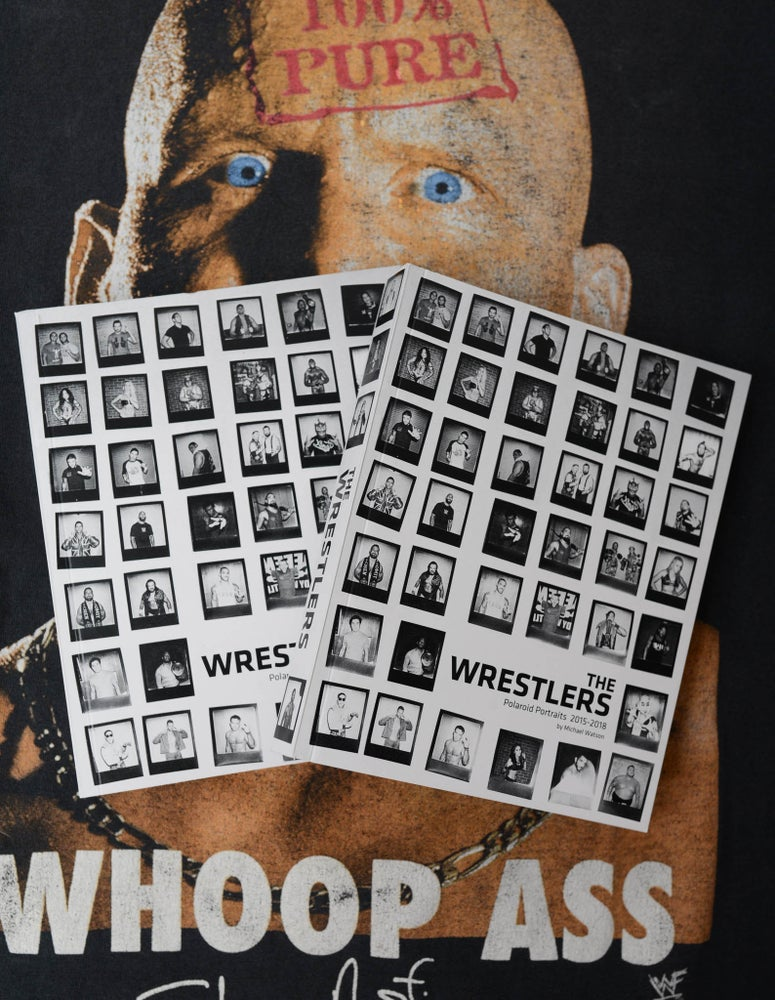 Image of 'The Wrestlers' Book