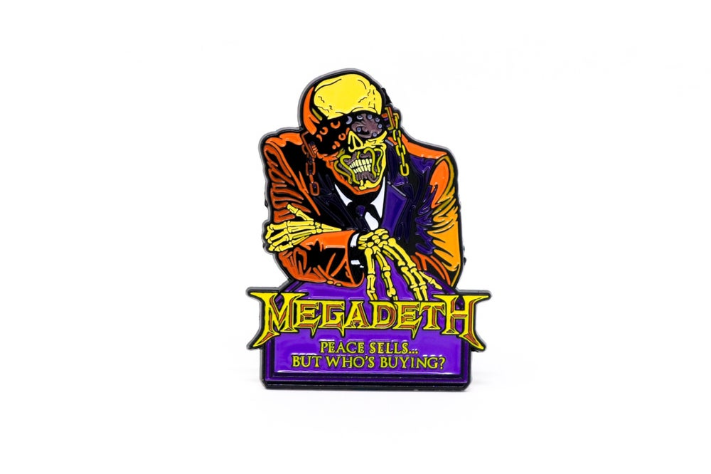 Image of Megadeth - Peace Sells Enamel Pin