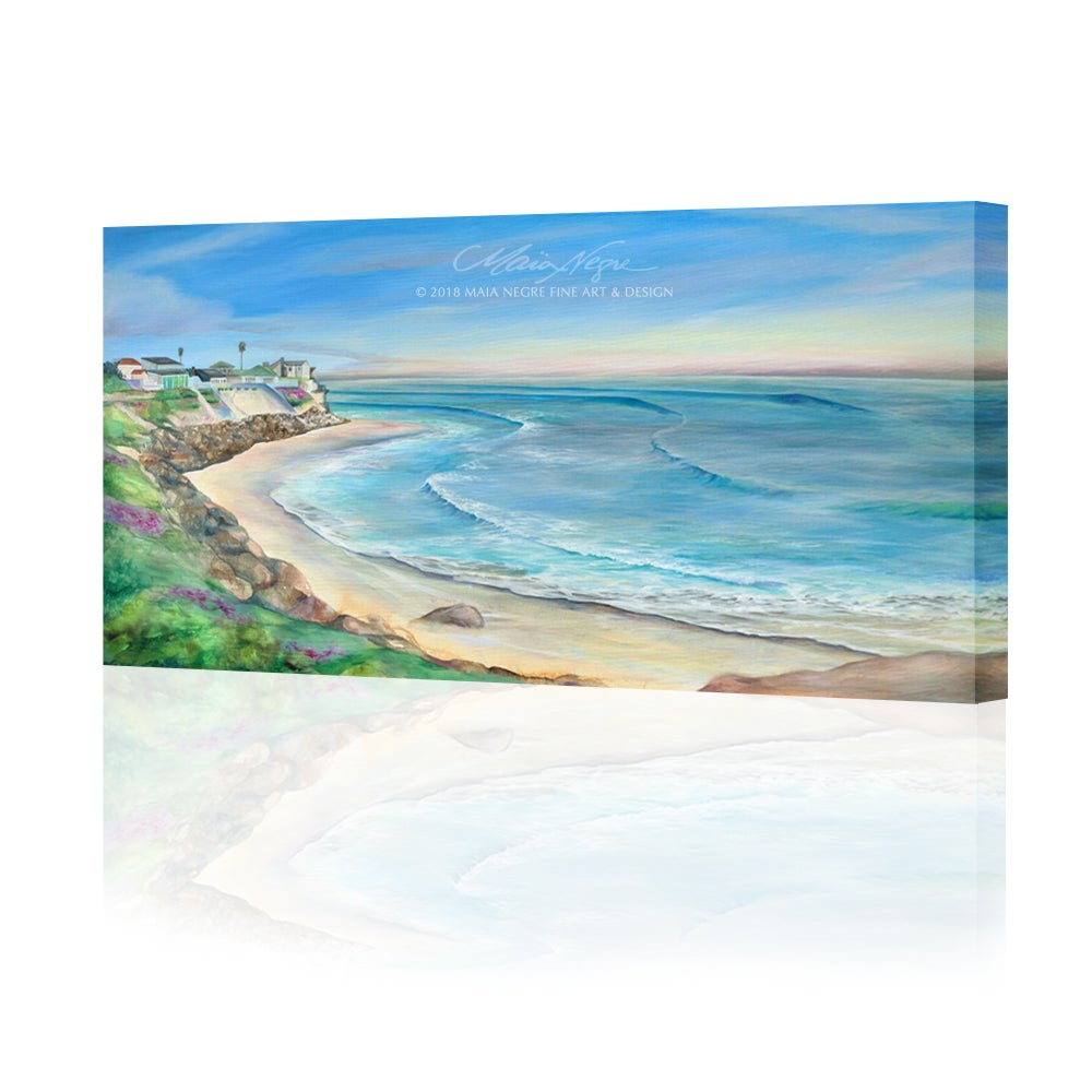 Image of Rockview Beach Giclee Print