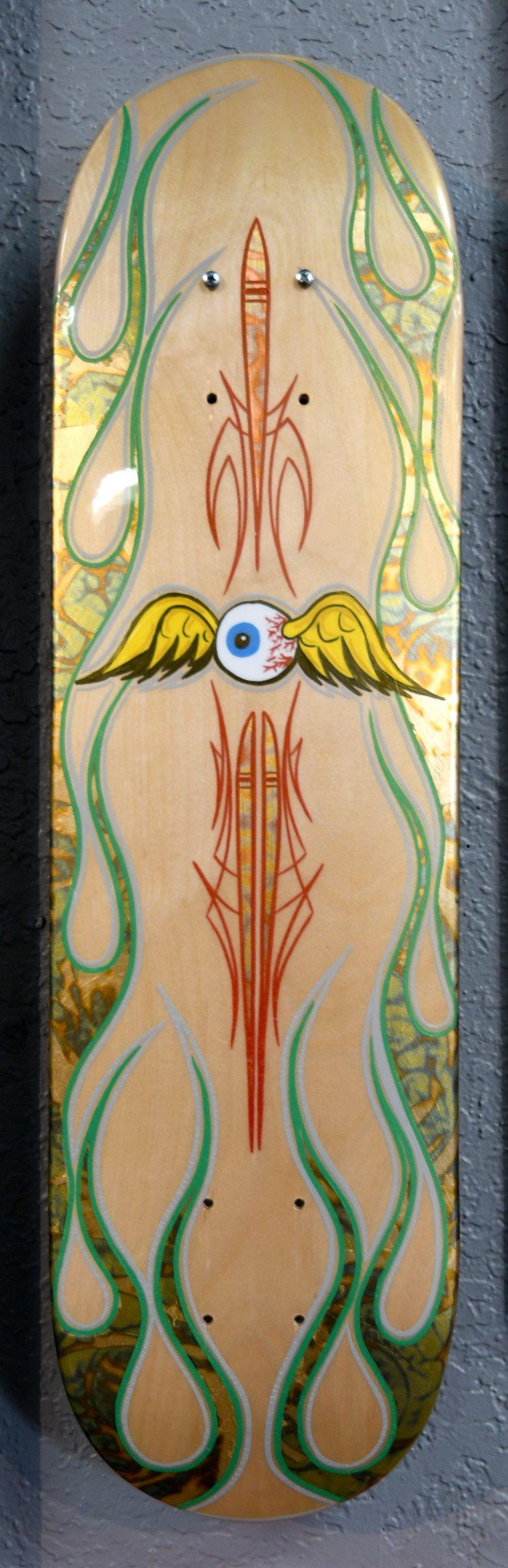 "Image of ""Flyin Eyeball"" by Mike Jacox"