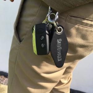 Image of Sideburn x RW Works Carabiner Key Fob