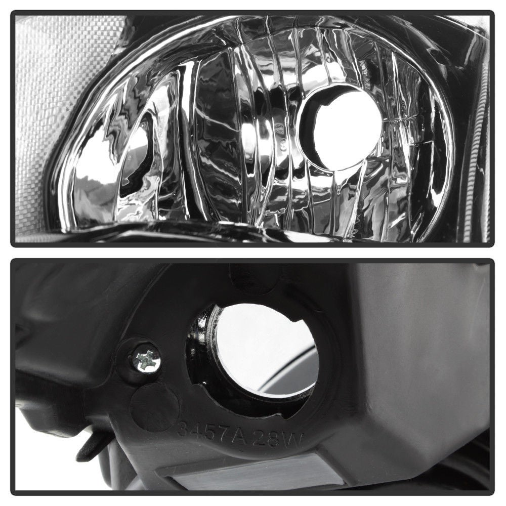 Image of (L32A) 07-09 ALTIMA Sedan Black Headlights w/ Smoke Reflector