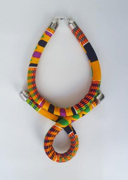 Image of Nubian Kente Necklace