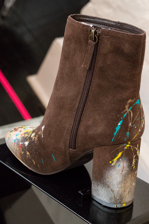 """Image of ABJ """"The Abstractionist"""" Suede boot"""